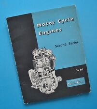 1955 Motorcycle Engines Manual Engineering Book BSA Triumph Vincent Norton Ariel