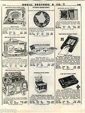 1980 ADVERTISEMENT Game Tomy Pinball Baseball NFL Blip Stevens Chinese Checkers