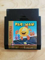 NES - Pac-Man (Tengen Black Cartridge) - Tested & Guaranteed - Nintendo Game