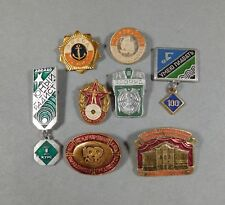 8 Different USSR Miltary and Sports Medals -