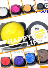 12 Colorful Carved Glue UV Gel 3D Miniature Sculpture Nail Art Modelling Paintin