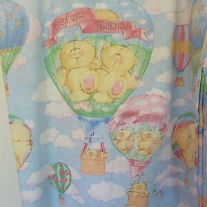 Rare Vintage 90s Forever Friends Single Duvet Cover pillowcase  set Bears