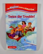 The Magical States of America: Twice the Trouble (Paperback, Children's Chapter)