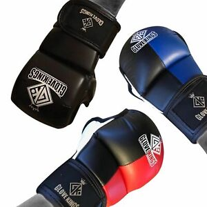 GK MMA Gloves Sparring Martial Arts Bag UFC Cage Fighting Muay Thai Training