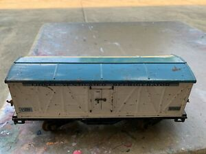 Lionel Standard Gauge - 514R Refrigerator Car with Blue Roof