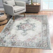 Beccles Star Medallion Cream Transitional Oriental Rug - 4 Sizes **NEW**