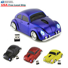 US 2.4Ghz Wireless Beetle Classic car Mouse optical PC Laptop Mice +USB Receiver