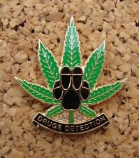 Police DOG UNIT SECTION DRUGS DETECTION tie tac pin badge K-9 '