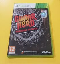 Guitar Hero Warriors of Rock GIOCO XBOX 360 IN ITALIANO