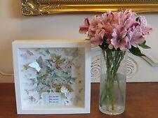 Personalizado De Boda Día/aniversario Mariposa Imagen en marco de caja de regalo 3D