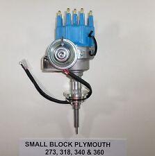 PLYMOUTH Small Block 273-318-340-360 BLUE SMALL CAP HEI Distributor Ready-to-Run