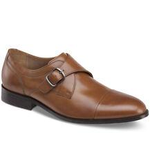 Johnston & Murphy Men's Hernden Single Monk Cap-Toe Loafers