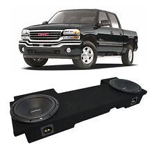 "01-06 GMC Sierra HD Crew Truck Rockford Prime R1S410 Dual 10"" Sub Box New 2 Ohm"