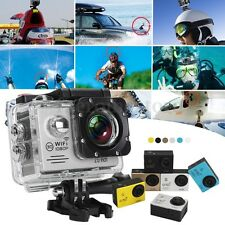 SJ9000 Waterproof WIFI 4K HD 12MP 120° Sports DV DVR Action Camera Camcorder