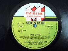 Alex Harvey SAHB Stories FACTORY SAMPLE A-1 B-1 UK LP TOPS 112 1976 EX