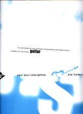 Jim Snidero Easy jazz conception guitarra Guitar notas con Play-Along CD