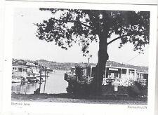 "+PC-Postcard-""Historic Arks""  *Marin County, Ca -Houseboats of Sausalito- (#108)"