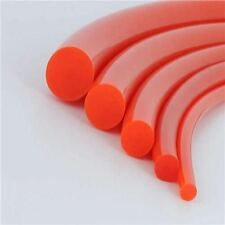 "3/8"" Diameter Round Orange Urethane Drive Belt up to 33 Inch Long Made to order"