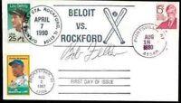 Bob Feller Autograph Fdc 1980 Jsa Signed Authentic