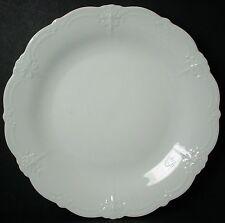 "TIRSCHENREUTH china BARONESSE WHITE pattern BREAD PLATE 6-3/4"""