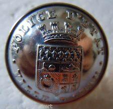 Bouton d'Uniforme POLICE d' ETAT VILLE d'ORAN AFN Algérie ORIGINAL France 22 mm