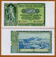 Czechoslovakia, 50 Korun, 1953, P-85 (85a), UNC > Russian Print