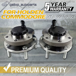 2 x FOR Holden Commodore Front Wheel Bearing Hub VT II VX VY VZ With ABS New