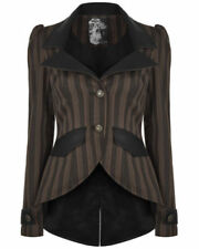 Polyester Dry-clean Only Striped Coats, Jackets & Vests for Women