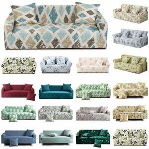 1/2/3/4-Sitzer Sofabezug Sofa Abdeckung Stretch Protector Couch Schonbezug