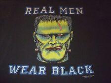 Real Men Wear Black Vintage Shirt ( Used Size L ) Good Condition!