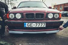 BMW E34 WIDE V8 GTR front bumper spoiler chin lip addon valance trim splitter M