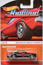 Hot Wheels 2015 Redline Nissan Skyline H/T 2000GT-X # 2/18 Negro