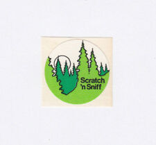 Vintage 3M Scratch and Sniff Pine Tree Sticker