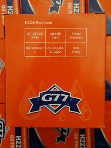 G77 H2222 Engine Oil Filter (2 pcs)