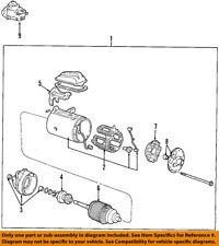 FORD OEM-Starter Motor F7UZ11002AARM