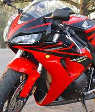 Smoke LED Mount Turn Signals Light For Honda CBR 600 f4 f4i 900 929 954 1000 RR