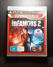 inFamous 2 *NEW & SEALED (Sony PlayStation 3, 2011) PS3 - FREE POST