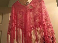 Speechless  shawl cape poncho size 16 Kids  pink