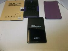 Samsung Galaxy Tab E 9.6 16GB, Wi-Fi + 4G (Verizon), 9.6in - Black Bundle 2 Case