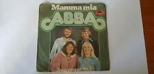 "ABBA Mamma Mia 10 TITOLI Pop Musica Leggera 45 giri 7"" DIG.IT made in Italy 1975"