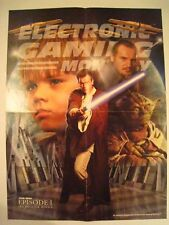 STAR WARS Episode I The Phantom Menace ELECTRONIC GAMING Monthly Excl. Poster