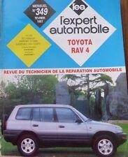 Revue technique 4X4 TOYOTA RAV4 RAV 4 2.0 ESSENCE RTA EXPERT N° 349 1997