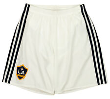 adidas Men's MLS Adizero Team Replica Short, LA Galaxy- White