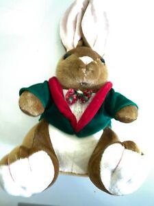 The Velveteen Rabbit Boy Plush Christmas Vintage 1995