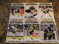 2015-16 COQUITLAM EXPRESS BLAKE HAYWARD BCHL SINGLE PLAYER CARD