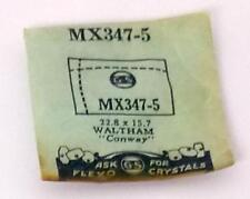 NOS G-S Crystal MX347-5 for WALTHAM Conway * 22.8 x 15.7 mm