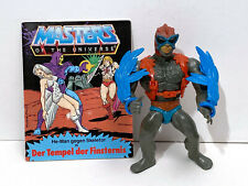 Stratos / MotU Vintage / Masters of the Universe Original Figur + Comic