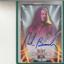 """2013 TOPPS HEAVY METAL REB BEACH """"WINGER"""" AUTOGRAPH AUTO"""