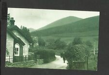 Nostalgia Postcard Luss on Western shore Lock Lomond-beneath Ben Dhu Scotland