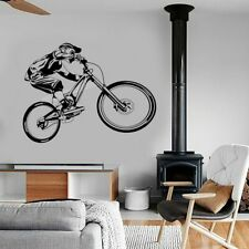 Mountain Bike Extreme Sports Biking BMX Bicycle Motocross Wall Sticker Modern